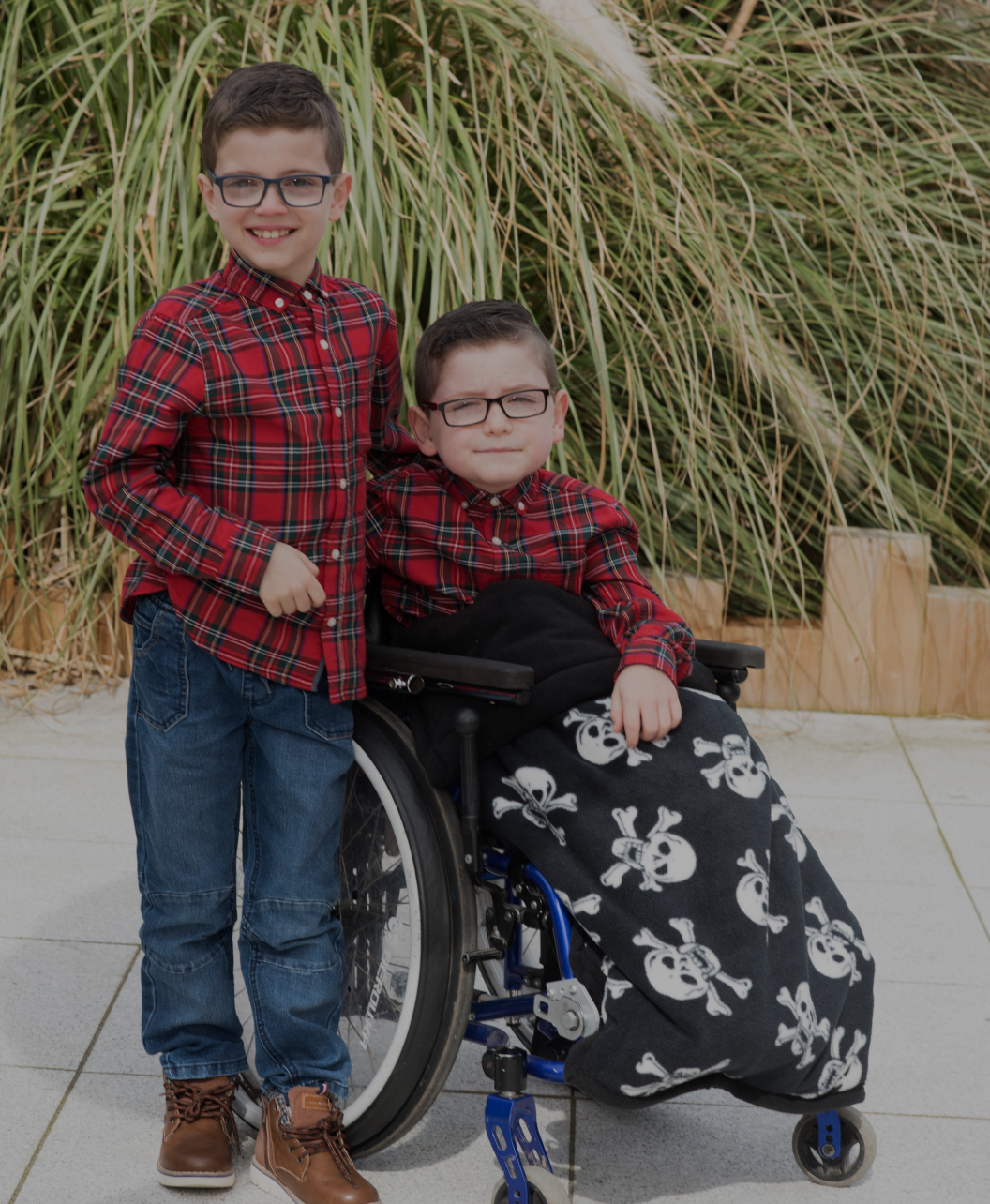 GaryB wheelchair together