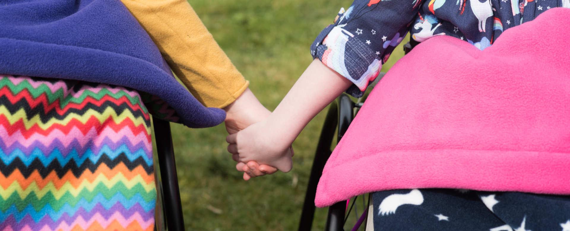 Holding Hands GaryB Wheelchair Accessories