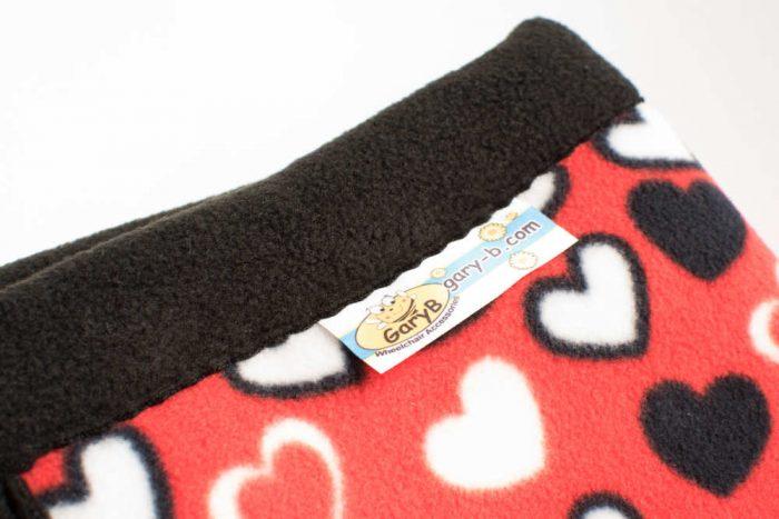 Love Hearts red -black GaryB