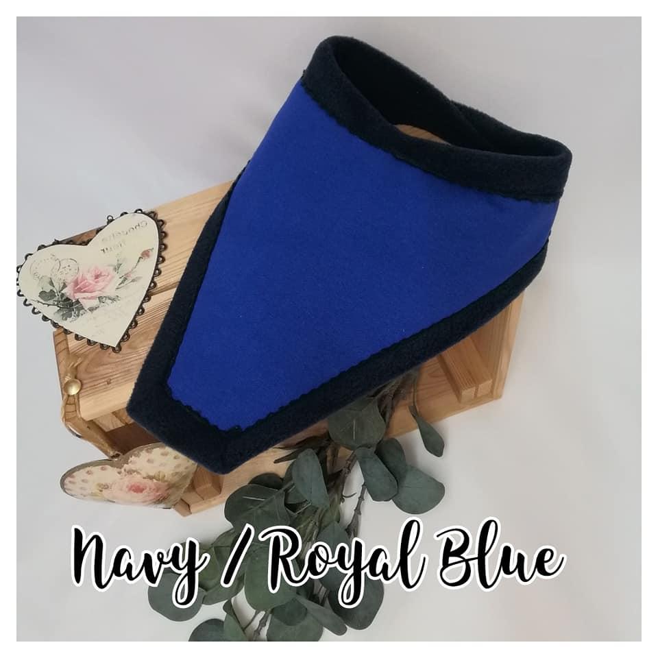 royal blue absorbant adult child drooling bib